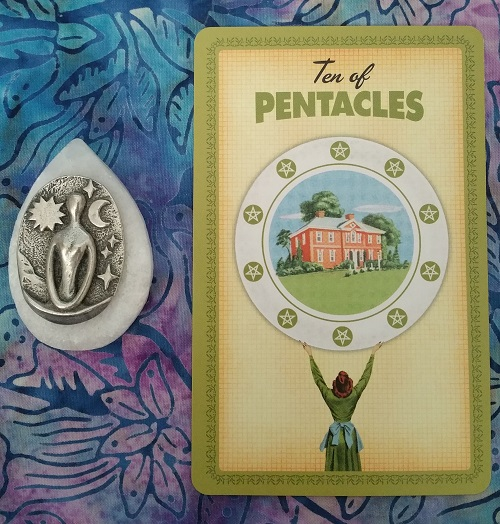 What's Up Energetically: Week of 22 October 2018 ~ An energy reading blog post by Intuitive Ellen :: Ellen M. Gregg ~ #energyreading #10ofpentacles #thehousewivestarot