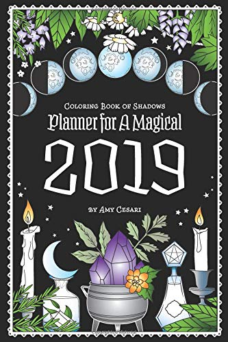 Planning for 2019 Already - Talking about the Coloring Book of Shadows: Planner for a Magical 2019 ~ Intuitive Ellen :: Ellen M. Gregg