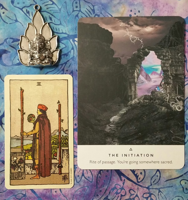 What's Up Energetically for December 2018 ~ An intuitive energy reading by Intuitive Ellen :: Ellen M. Gregg ~ #energyreading #Tarot #oracle #initiation #twoofwands
