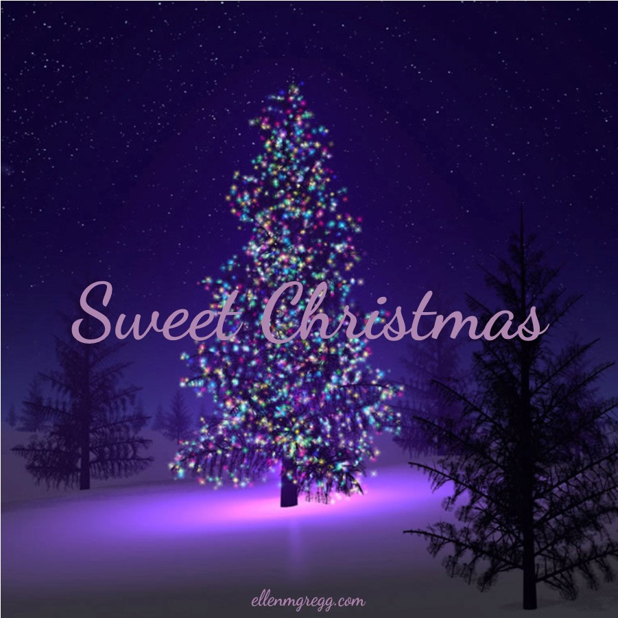 Sweet Christmas to you and yours from Ellen M. Gregg :: Intuitive Channel & Healer ~ Blessings be. #Christmas