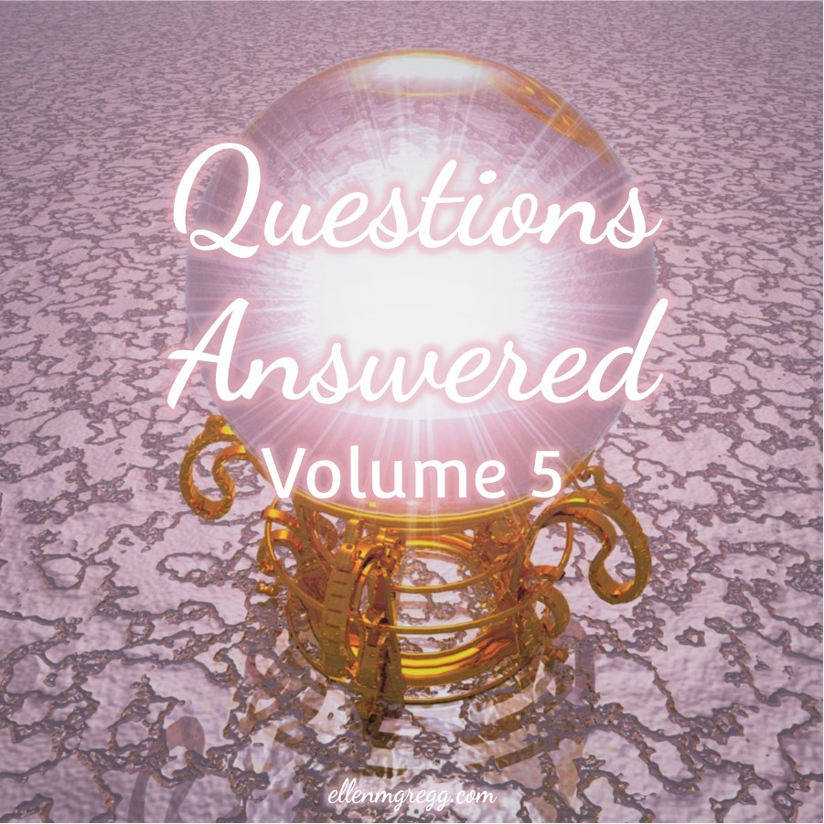 Questions Answered 5: When does a lightworker or Earth angel reach their potential? ~ A blog post by Ellen M. Gregg :: Intuitive ~ #lightworkers #earthangels #galacticenergy #extraterrestrials #thirdeye #clairvoyance