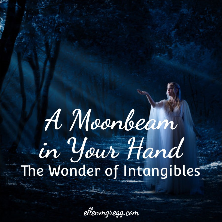 A Moonbeam in Your Hand: The Wonder of Intangibles ~ A post by Ellen M. Gregg :: Intuitive ~ #intangibles #moonbeam #moonenergy #sunlight #sunenergy #thesoulways