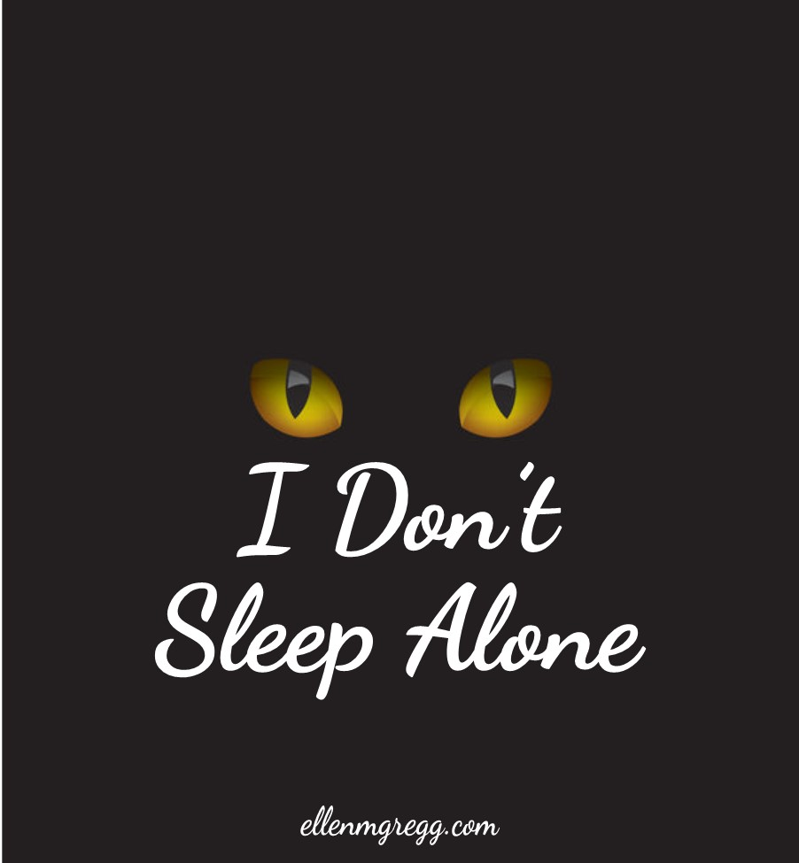 I Don't Sleep Alone   A post by Ellen M. Gregg :: Intuitive :: The Soul Ways   #elementals #spiritanimals #thesoulways