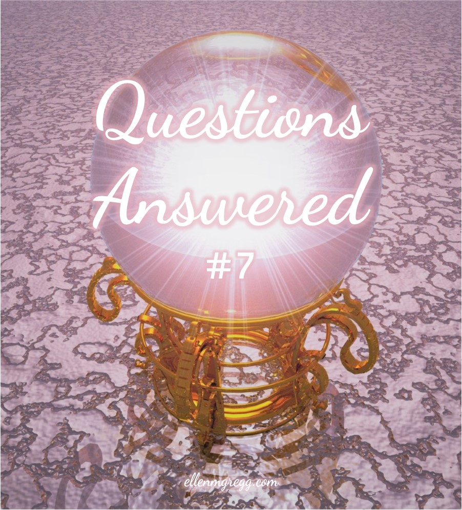 Questions Answered #7: Seeing Hell with the Third Eye   Ellen M. Gregg :: Intuitive