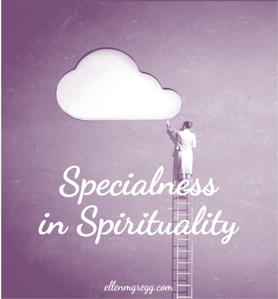 Specialness in Spirituality: Owning Our Spiritual Nature   A post by Ellen M. Gregg :: Intuitive   #beingspecial #specialness #spirituality #thesoulways