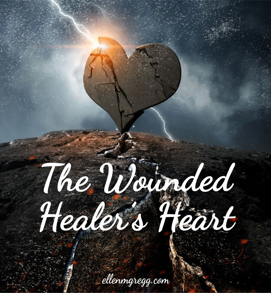 The Wounded Healer's Heart: Owning Our Spiritual Nature | The Wounded Healer's Heart is a blog post by Ellen M. Gregg :: Intuitive ~ The Soul Ways | #shadowwork #woundedhealer #heartchakra #energywork #thesoulways
