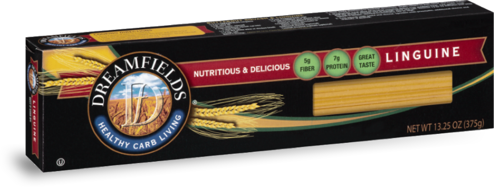 dreamfields pasta linguine in a box