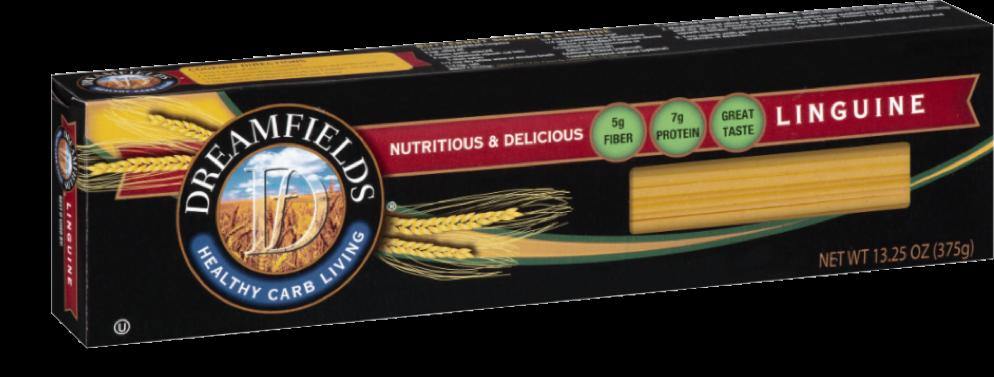 dreamfields pasta Linguine in a box