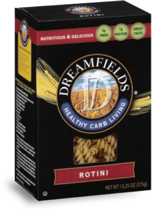 dreamfields pasta rotini in a box