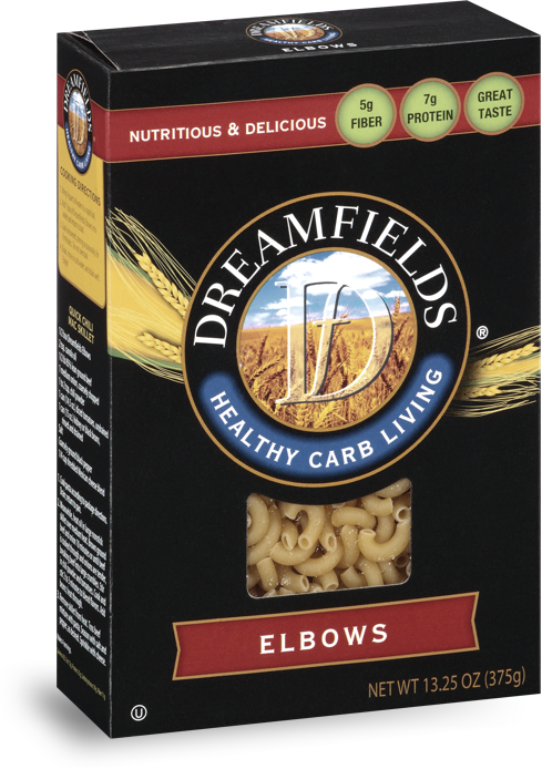 dreamfields pasta elbows in a box