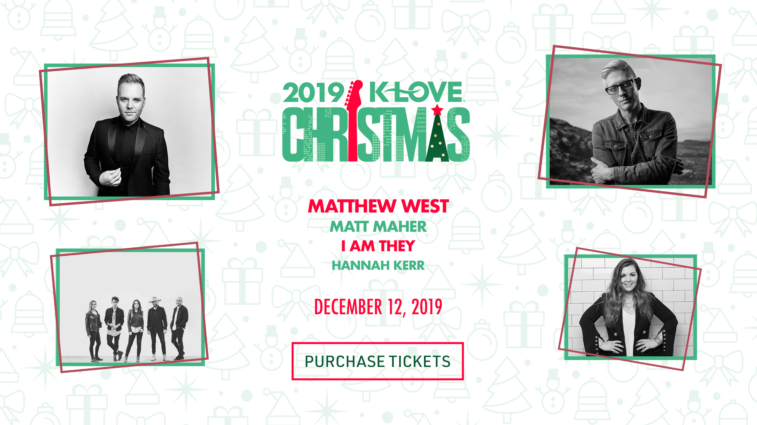 Klove Christmas Tour 2019.Events Life Change Resources