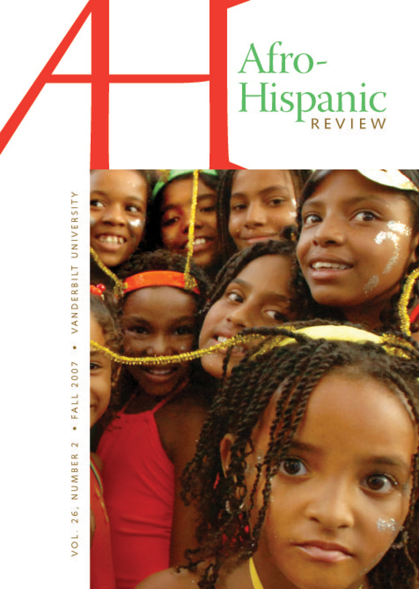 Cover art for Afro-Hispanic Review