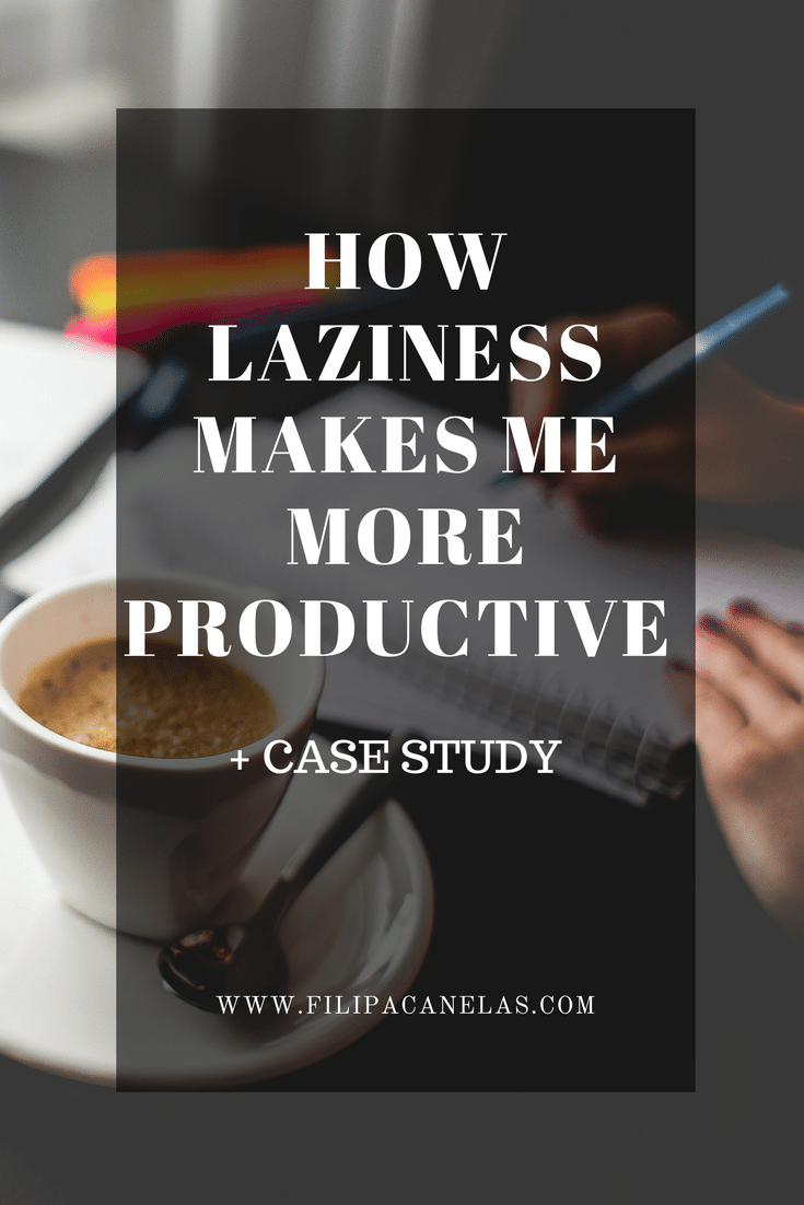 How Laziness Improved my Productivity + Case Study