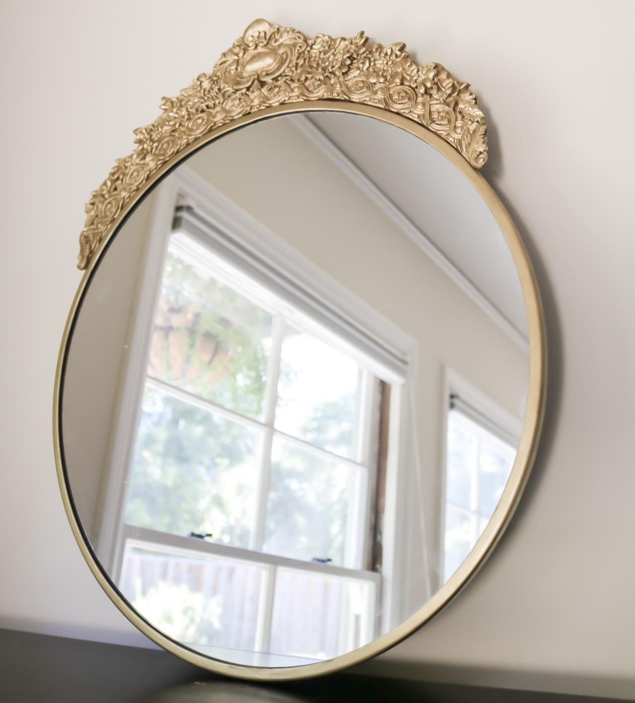 Diy Gold Decorative Mirror Dani