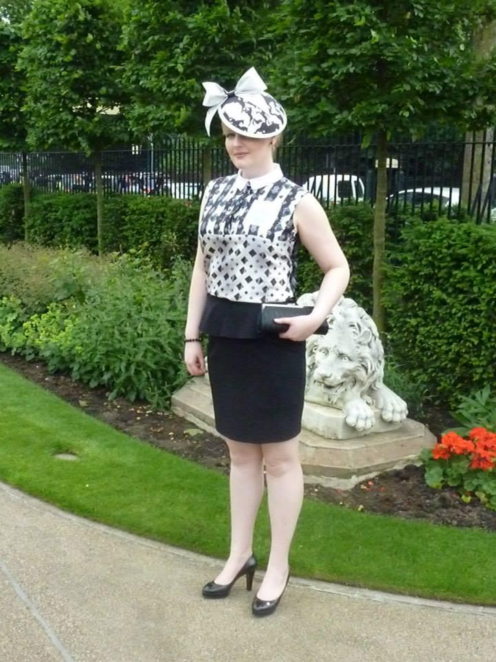 Kate at Royal Ascot, Friday.