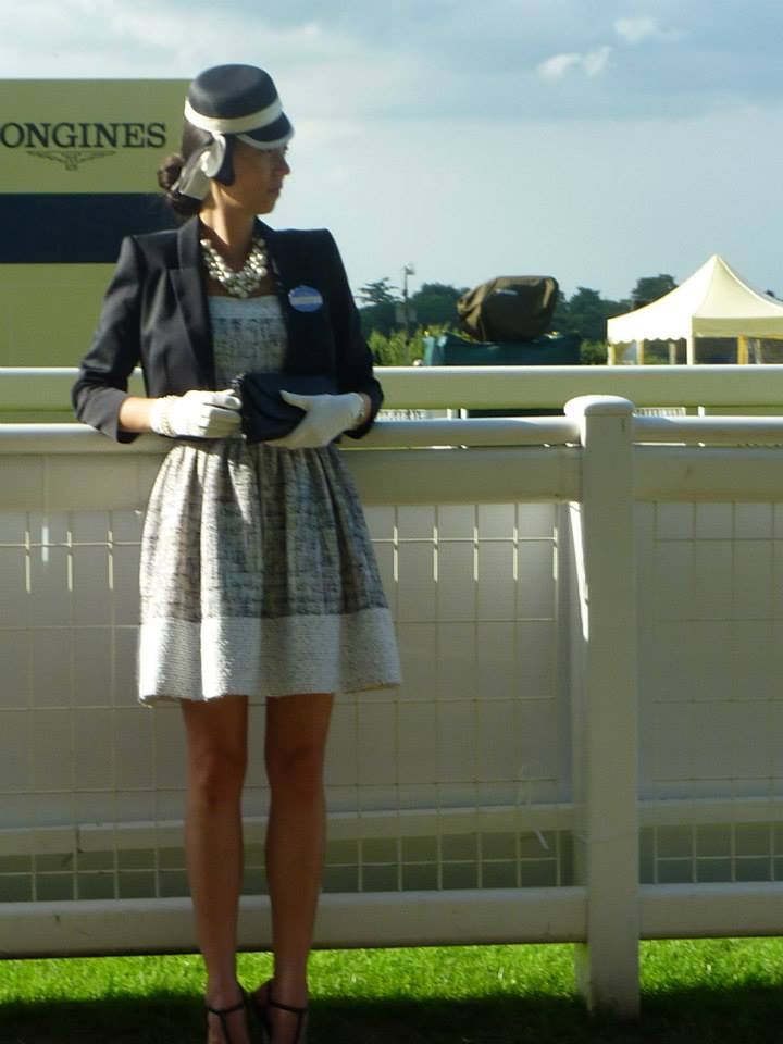 Friday's outfit, Royal Ascot.