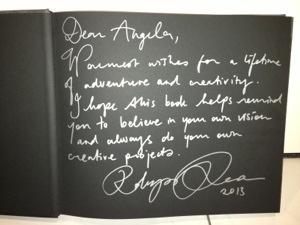 My signed copy