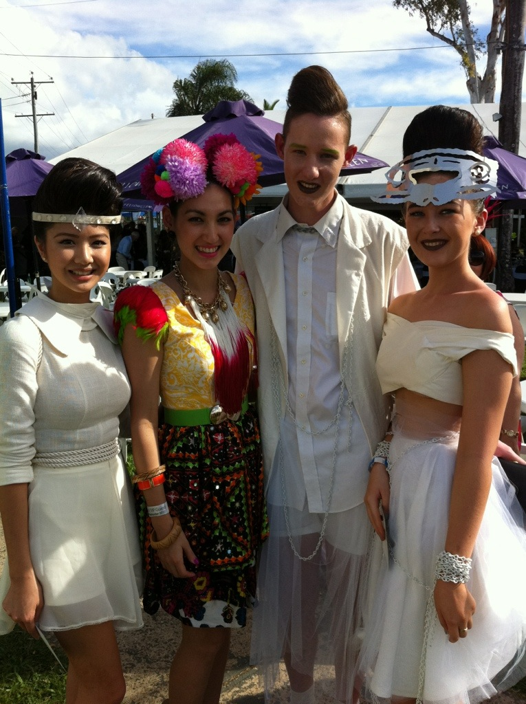 Mackenzie, last years winner of the Emerging Designer category. His outfits blew me away!