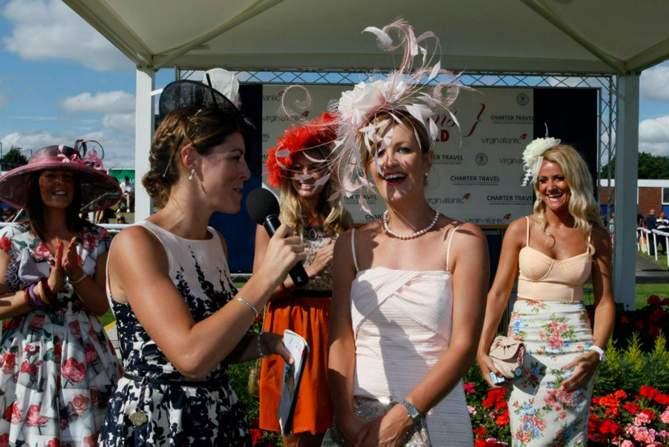 Best Dressed Lady 2012, Louise Kennedy from Newmarket. Photo by The Racecourse Newbury.