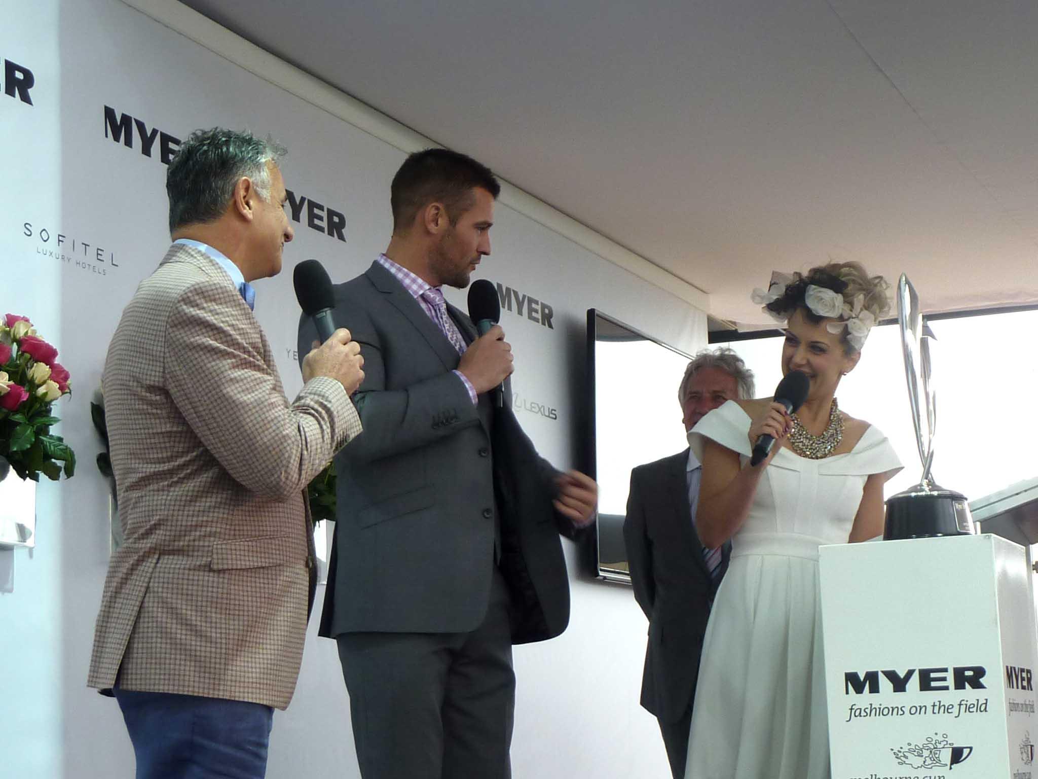 Dom Bagnato, Kris Smith and Melissa Hetherington discuss men's racewear.