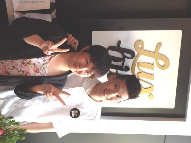Yen Yee and Bernard Chu of LuxBite