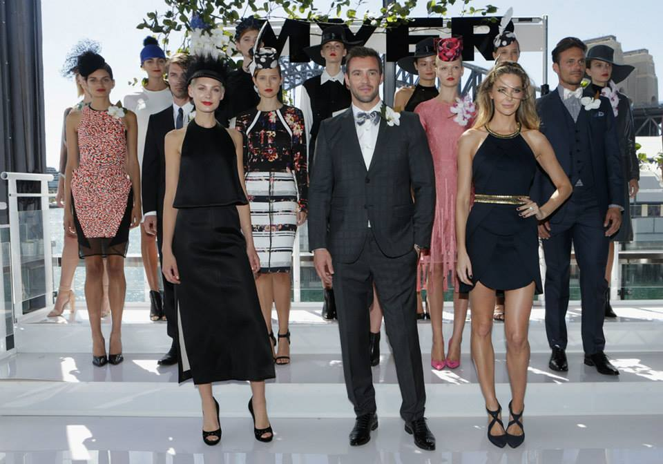 A selection of autumn racewear looks from Sydney Carnival sponsor, Myer.