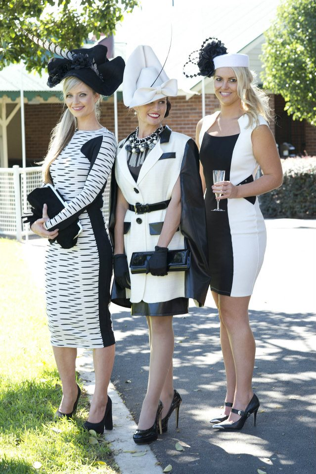 Entrants in last year's Australian Derby Day Fashions on the Field at Royal Randwick.
