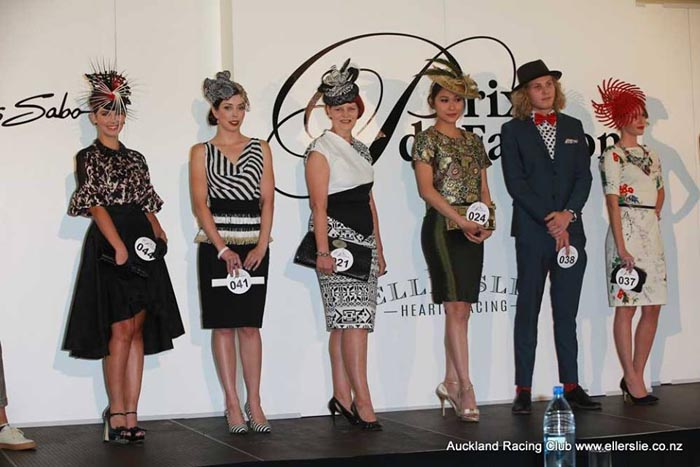 Just some of the semi-finalists in this year's Prix de Fashion.