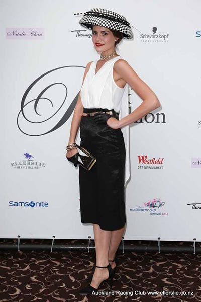 Winner Olivia Moor will now travel to Melbourne to compete in Fashions on the Field on Oaks Day.