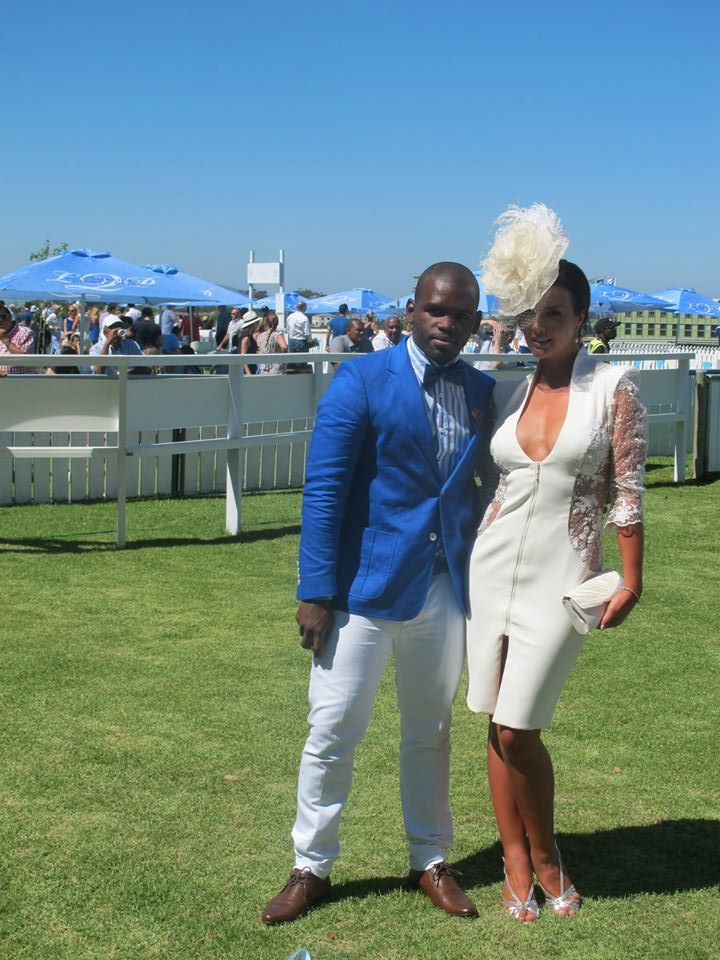 Best Dressed man and woman at this year's L'Ormarins Queen's Plate in Cape Town. Photo from L'Ormarins Queen's Plate Facebook page.