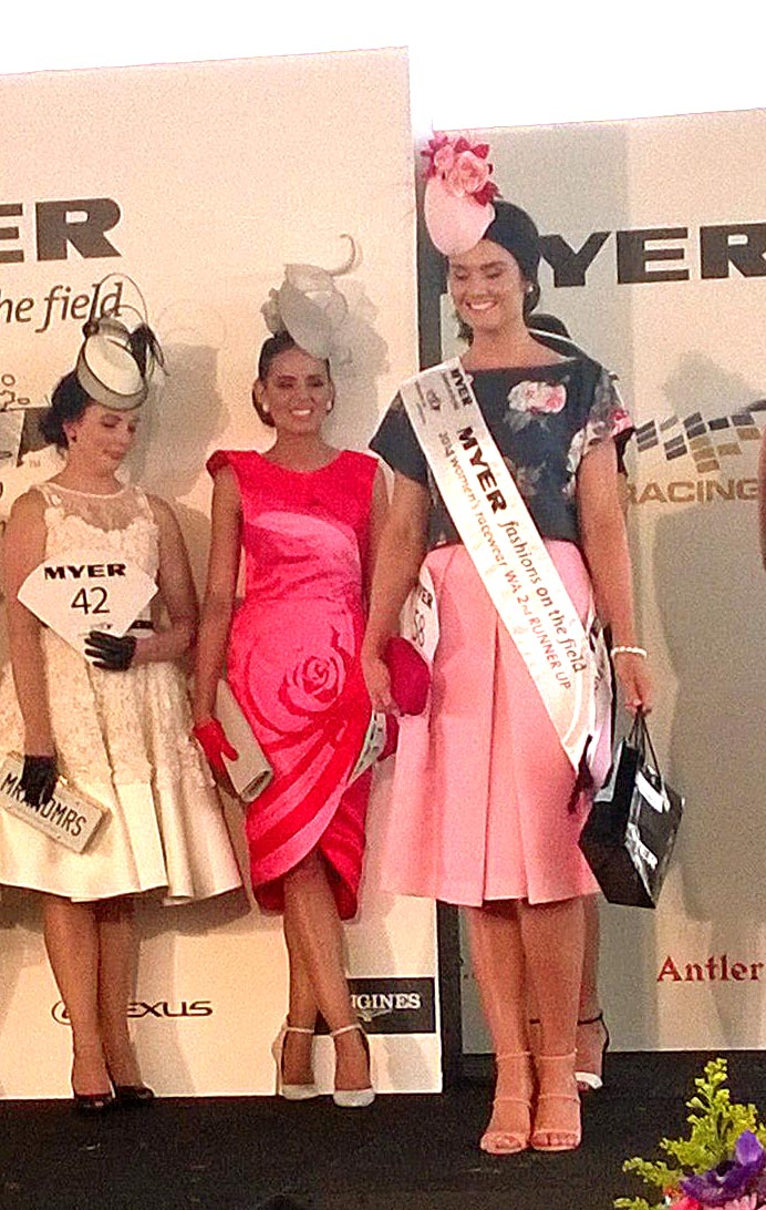 Janey McGregor was the second runner-up in pastels and moody florals.