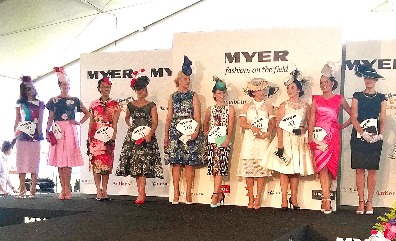 The final 10 for Myer Fashions on the Field WA state final.