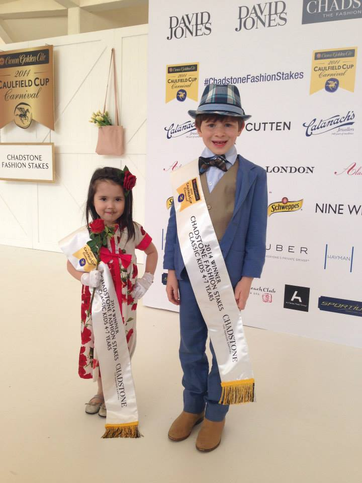 Last year's adorable winners of the Classic Kids 4-7 years category