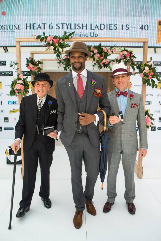 The winners of the 2014 Stylish Gentlemen category