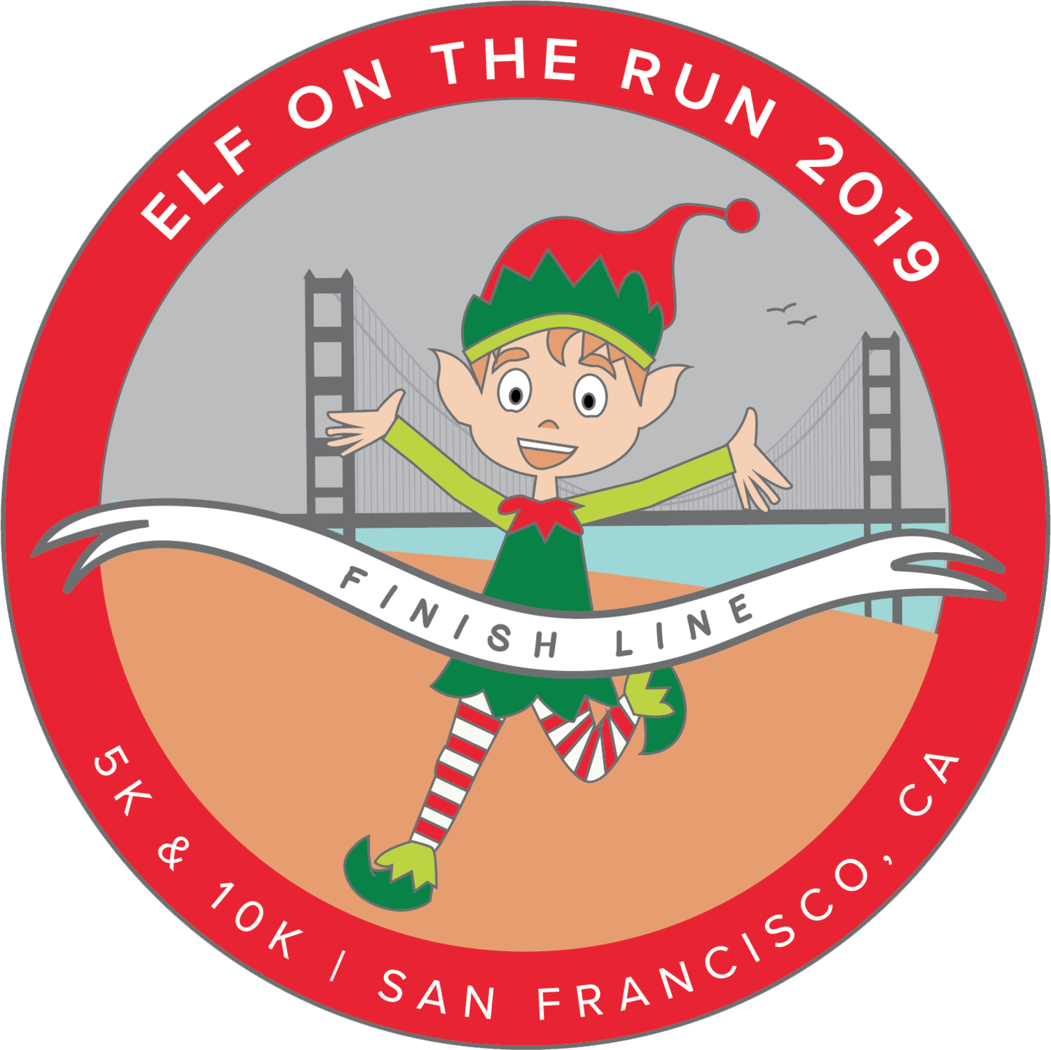 Elf On The Run