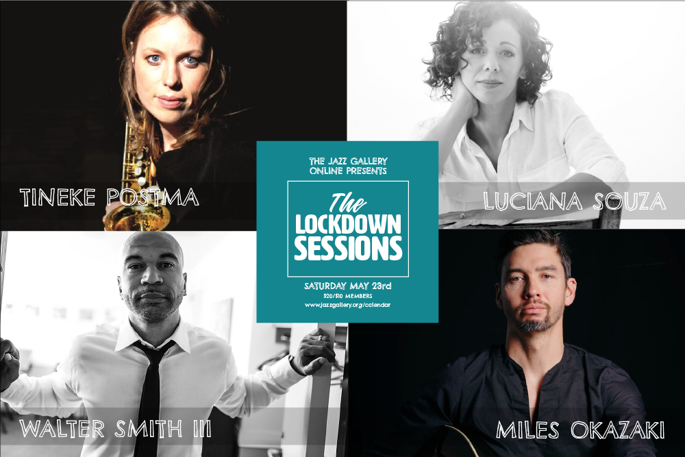 TJG Online Lockdown Sessions: Gerald Clayton, Roopa Mahadevan, Secret Mall, and Ben Williams