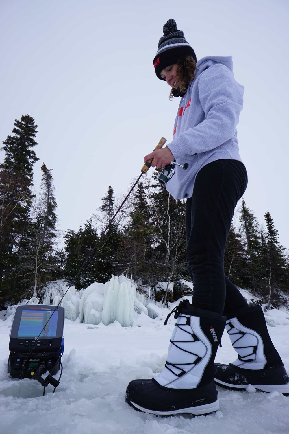 The gift of comfort and performance - the perfect ice fishing gift for the female angler in your life!
