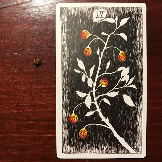 Card Of The Day Six Of Pentacles Shea In The Catskills The meaning of six of pentacles tarot card: shea in the catskills