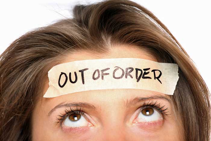 out of order mind