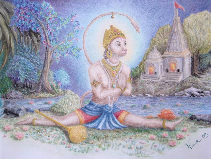 hanumanasana, splits pose