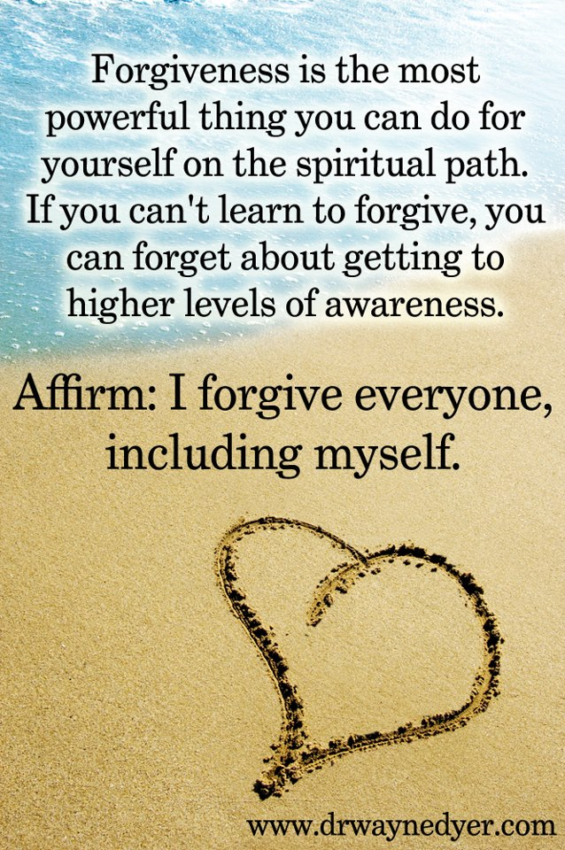 Wayne Dyer forgiveness