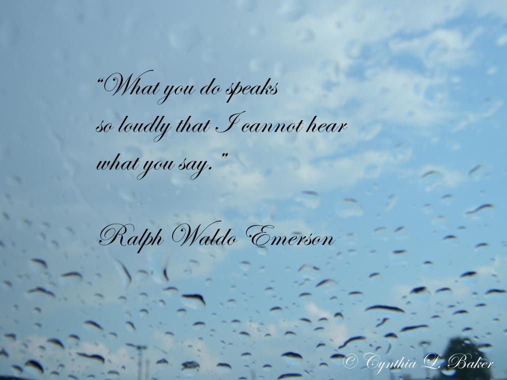 Ralph Waldo Emerson, quote, spiritual quote