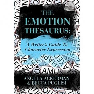 Books On Writing, The Emotion Thesaurus, @w4wpodcast