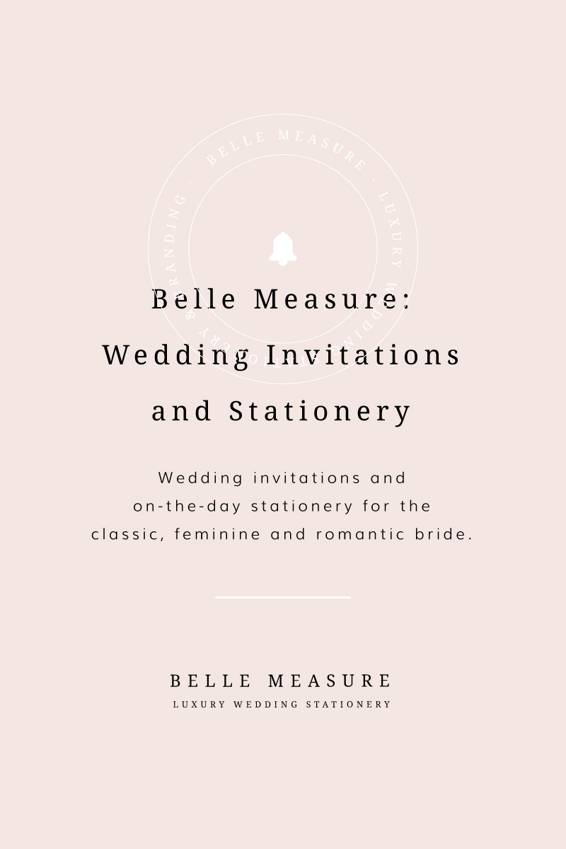 Belle Measure Luxury Wedding Invitations And Stationery