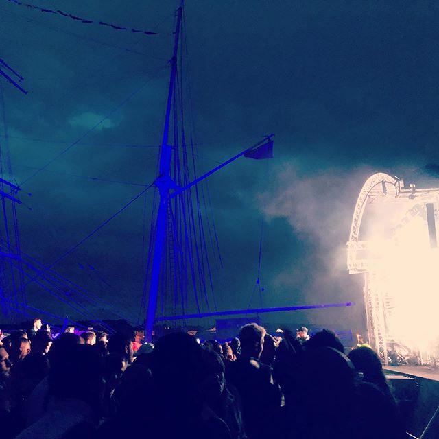 Techno skies @riversidefestivalglasgow