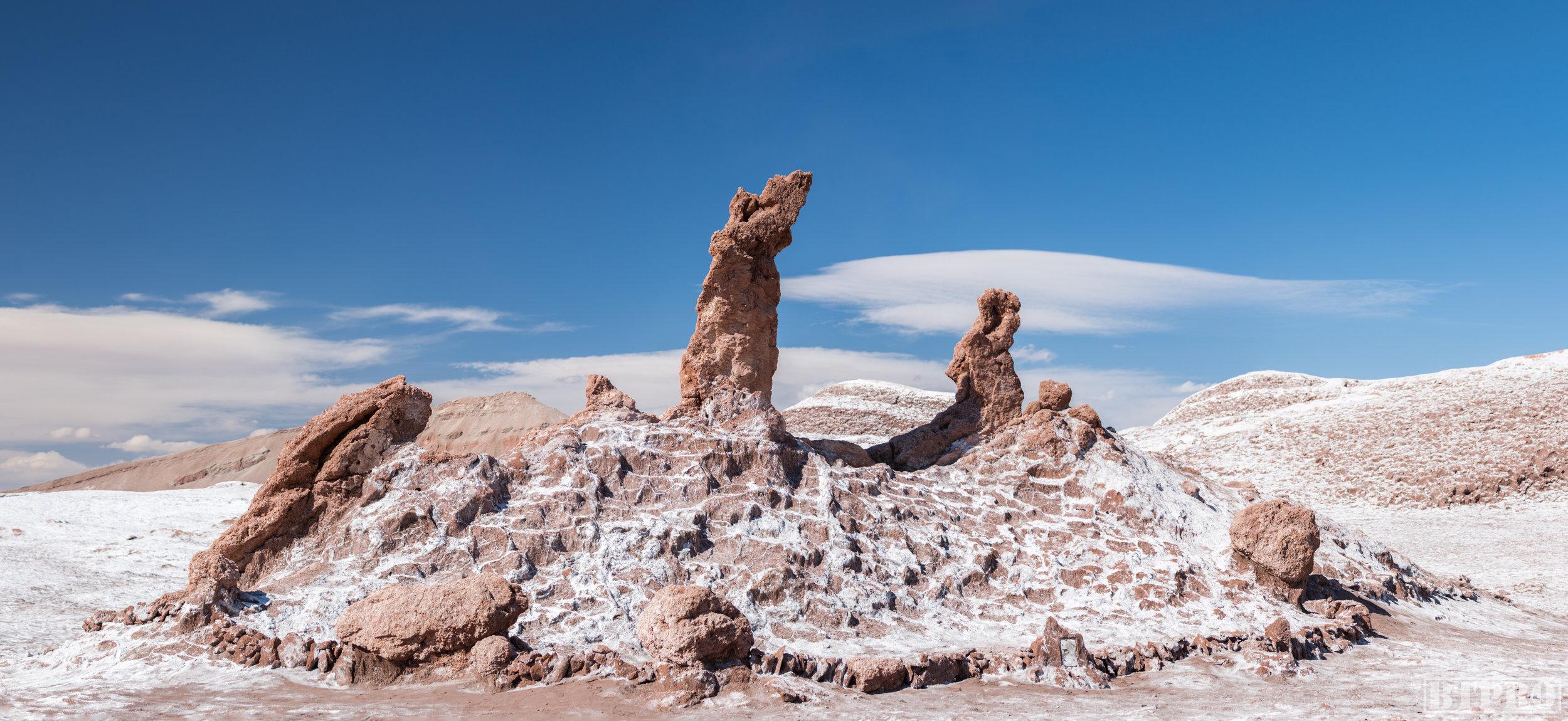 tres marias, 3 marias, valle de la luna, chile, travel, travel photography