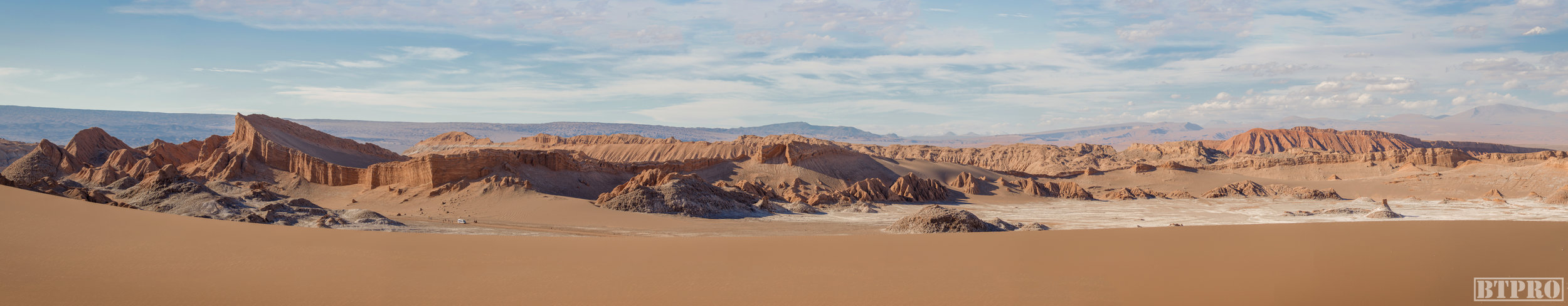 pano, atacama desert, travel, travel photography, desert, chile