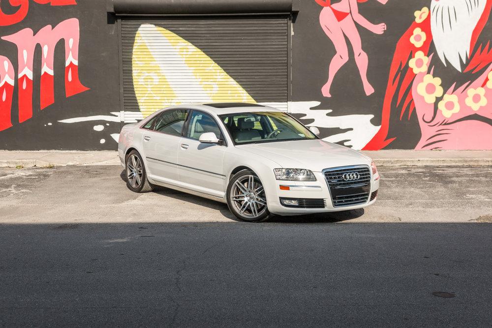 Audi A8 Photo Shoot Boss Talk Productions