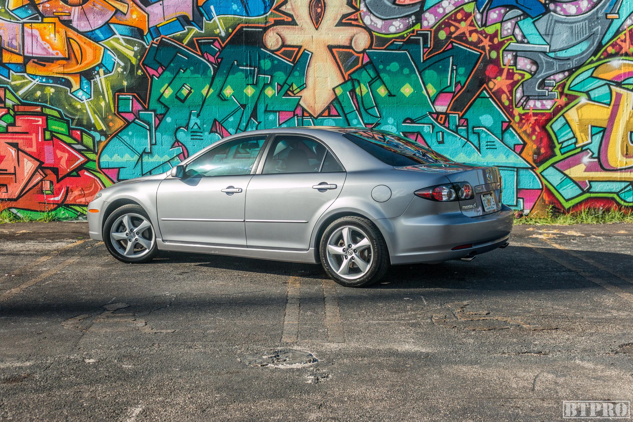 cars, car, mazda, mazda 6, car photography, wynwood, miami, commercial photography