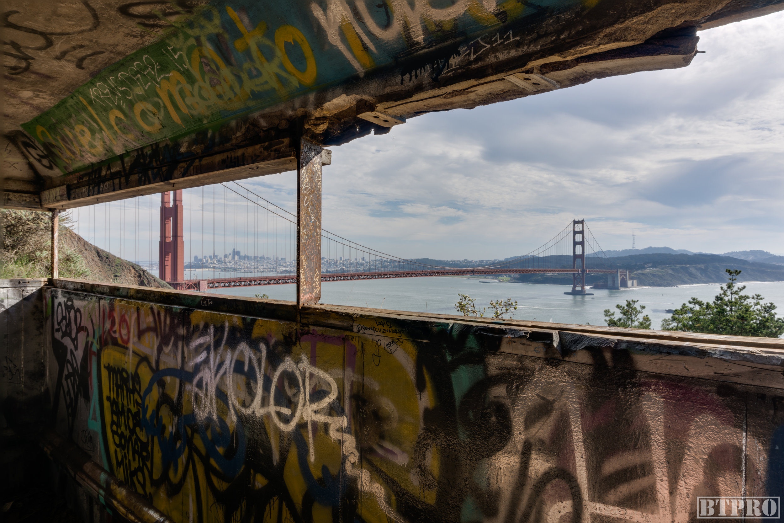abandoned, abandoned photography, bunker, marin, marin headlands, sf, san francisco, bay area, photography